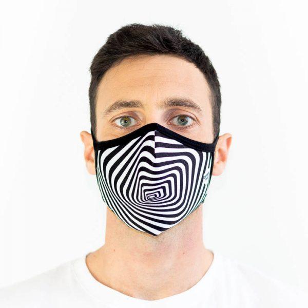 Mascarilla efecto optico