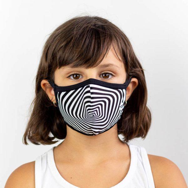 Mascarilla infantil efecto optico