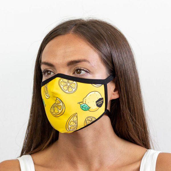 Mascarilla de limones