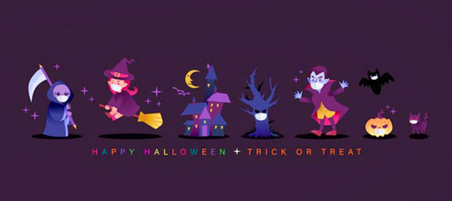 personajes-dibujos-animados-halloween-mascarilla-pandemia-covid_