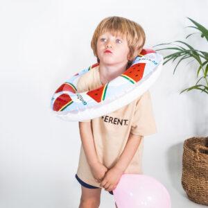 Camiseta_Infantil_Beige_Different_Niño