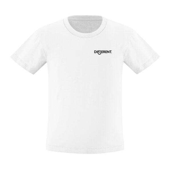 Camiseta_Infantil_Blanca_Básica_Different