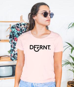 Camiseta_Mujer_Rosa_Crema_Dffrnt_Chica