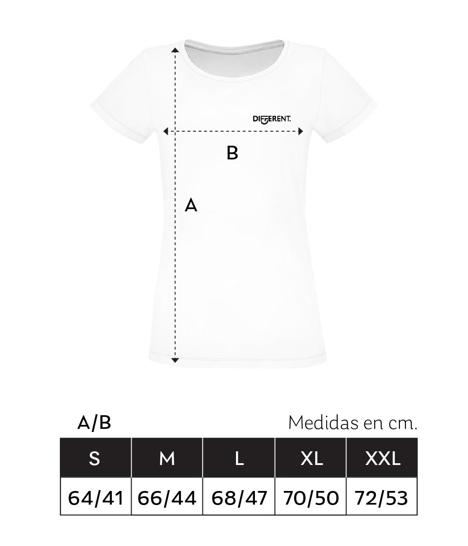 Medidas_Camiseta_Unisex_Different
